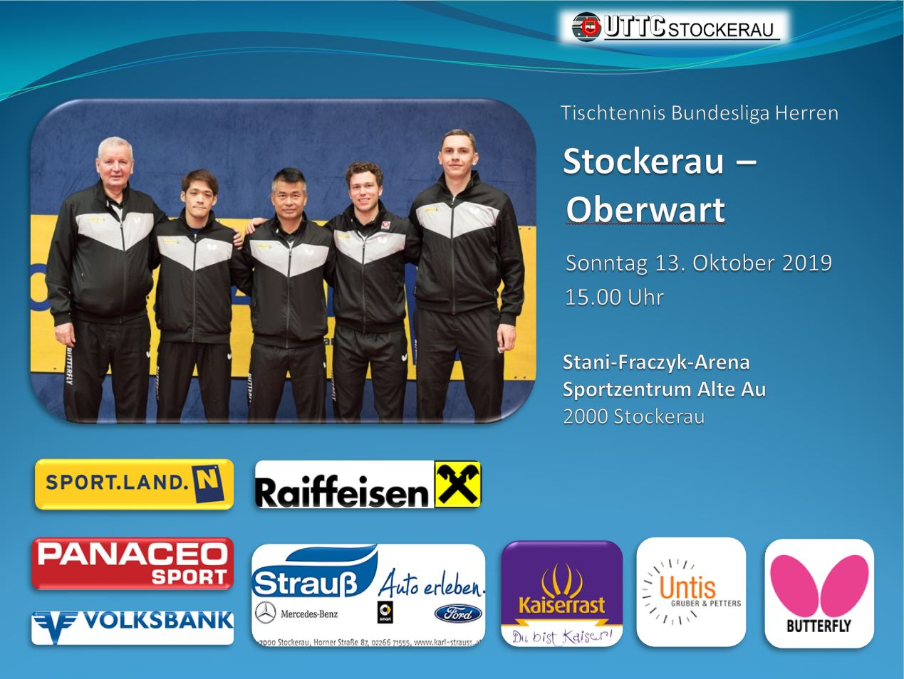 20191013 Stockerau Oberwart Flyer